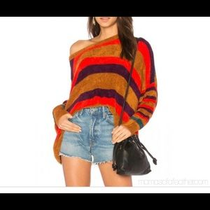 XS Free People Pullover Terracotta Sweater